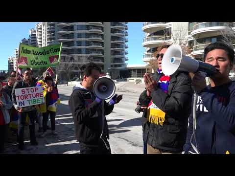 20180311020557 Calgary Tibetans 59th 10th march uprising against chinese occupation of Tibet.