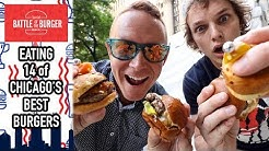 Eating 14 Hamburgers in 2 Hours at TimeOut Chicago's Battle of the Burger