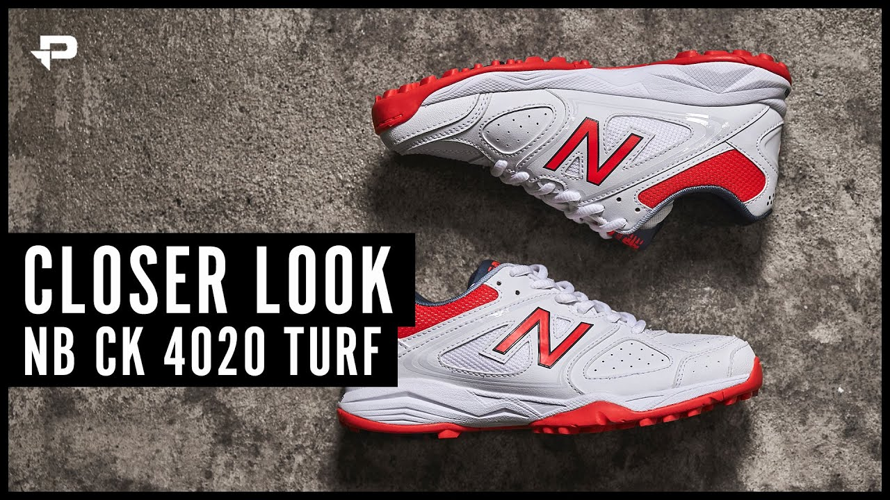 89687b363 New Balance CK4020 Cricket Shoes - Closer Look - YouTube