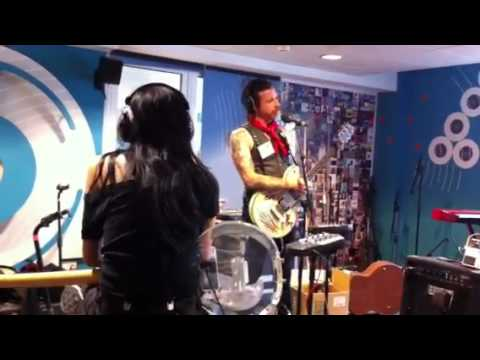 Jesse 'Boots Electric' Hughes Live in the BBC Radio 6 studi