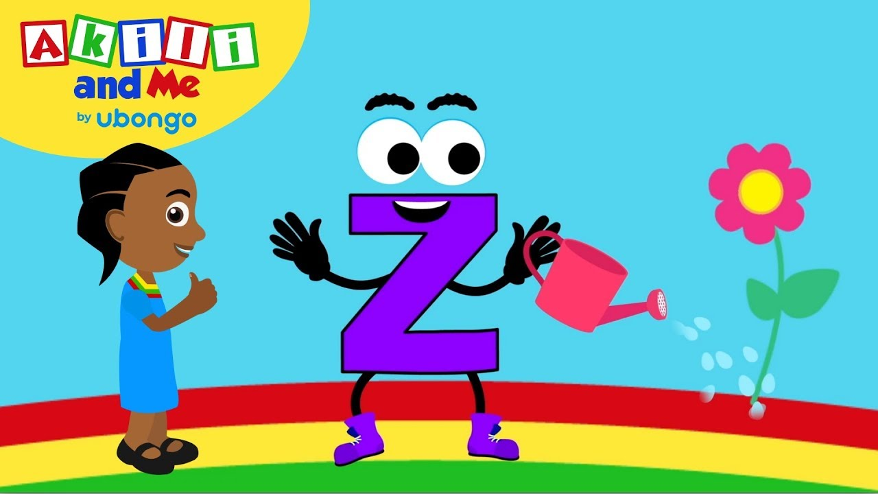 Meet Letter Z! | Learn the Alphabet with Akili | Cartoons from Africa for Preschoolers