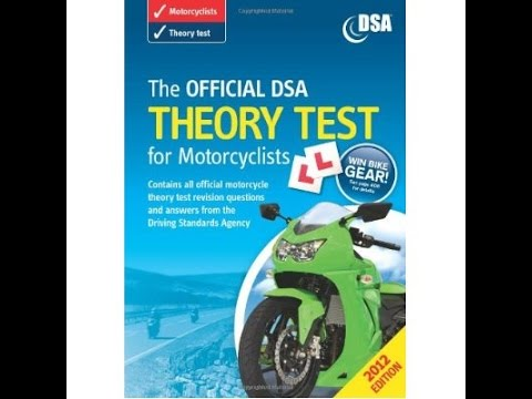 what does the motorcycle theory test involve