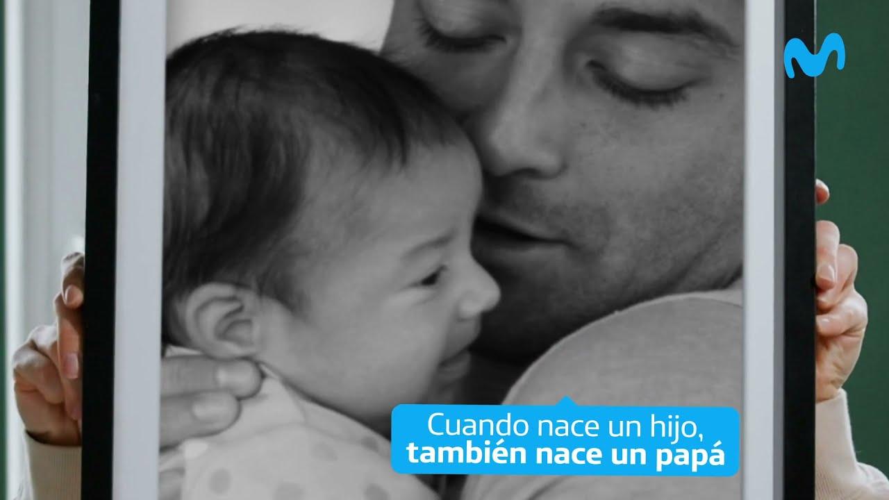 Cuando nace un hijo, también nace un papá. A todos, ¡feliz día! 💙