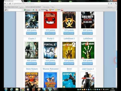 Gratis PC-Spiele LEGAL! über Gamedonator.com!