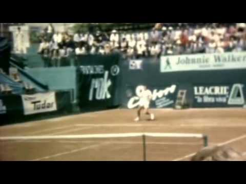 Adriano Panatta (2).April 1972.1/2 final Grand Prix Madrid