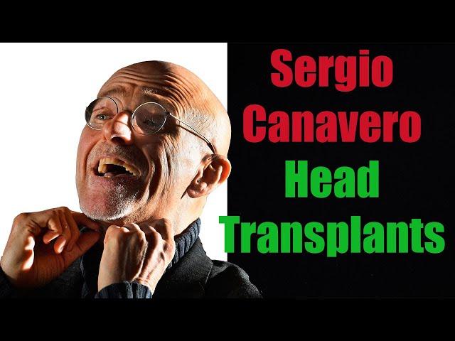Sergio Canavero Compilation | Human Head Transplants