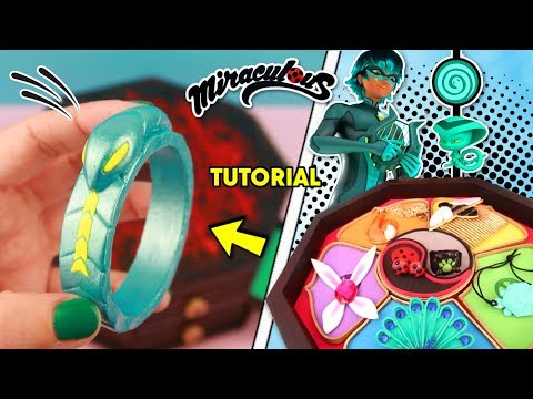 DIY The new Miraculous Ladybug  | How to make SNAKE bracelet of VIPERION  | Luka Miraculous DIY