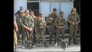 Осетинский добровольческий отряд в Абхазской войне. 1993 год.