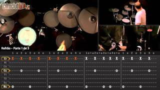 Seven Nation Army - The White Stripes (aula de bateria)