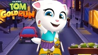 Talking TOM Gold Run - La Carrera de ANGELA - Juegos para Niños