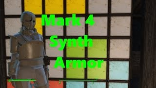 How To Get: Mark 4 Synth Armor - Fallout 4