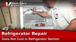 Amana, Whirlpool & Maytag Refrigerator Repair - Not cooling  evaporator fan motor - A2RXNMFWW01