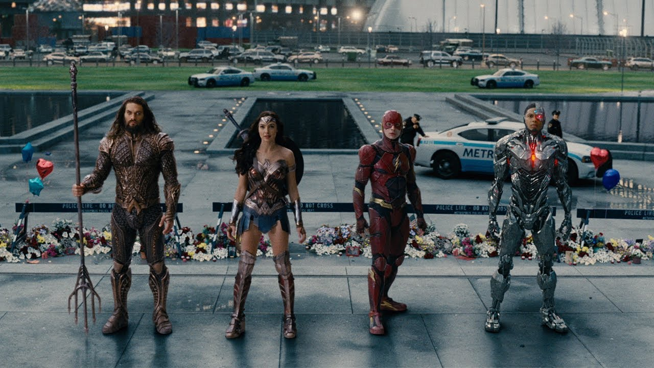 JUSTICE LEAGUE - Biopremiär 15 november - Officiell trailer #2 HD SE