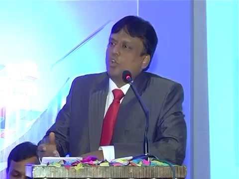CA K Raghu addressing the Members at Bangalore