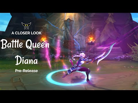 Battle Queen Diana Epic Skin (Pre-Release)
