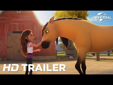 SPIRIT UNTAMED - Official Trailer (Universal Pictures) HD