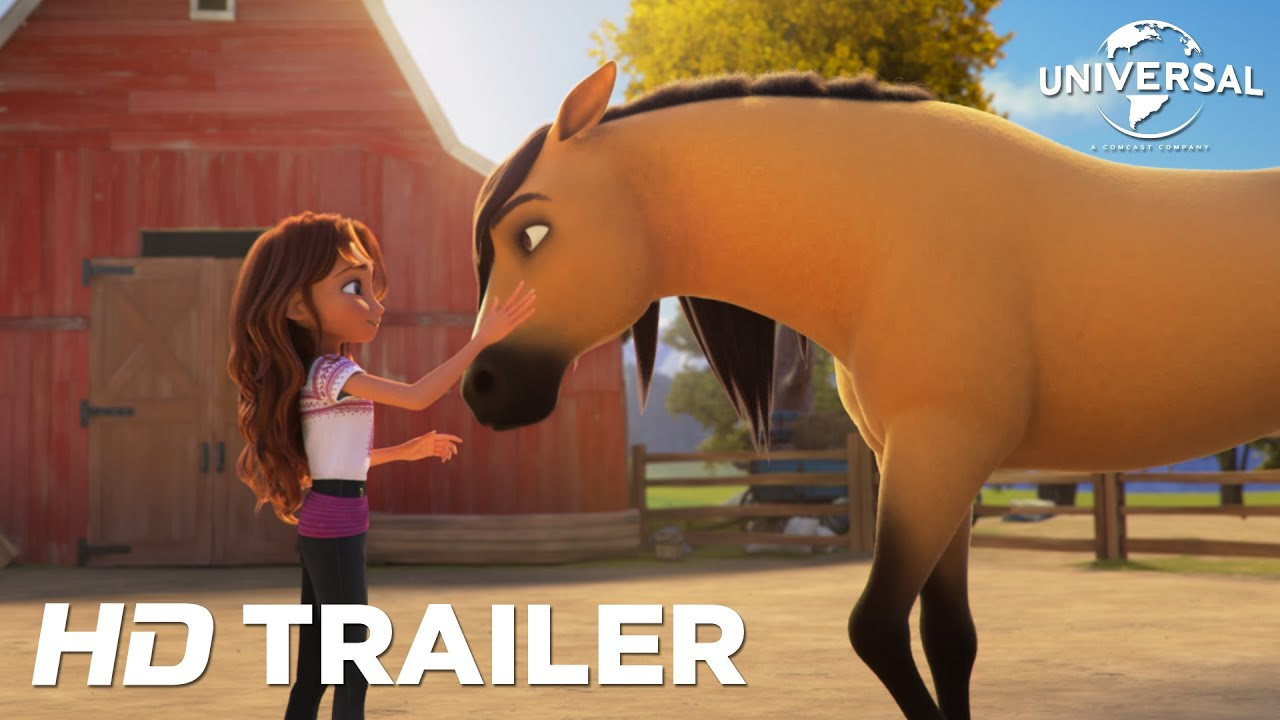 SPIRIT UNTAMED - Official Trailer (Universal Pictures) HD - yesvideoku1328