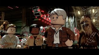 gameplay reveal trailer   lego star wars the force awakens