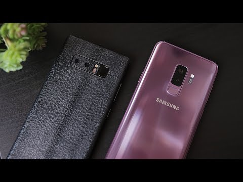 Bagusan Mana? Samsung Galaxy S9+ vs. Galaxy Note8