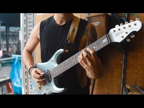 Ernie Ball Music Man: Chelsea Grin and Their Custom JP13 Guitars