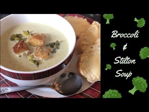 Classic Broccoli & Stilton soup easy recipe :) Cook with me!