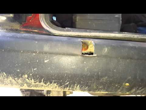 How to remove your jeep cherokee rear bumper