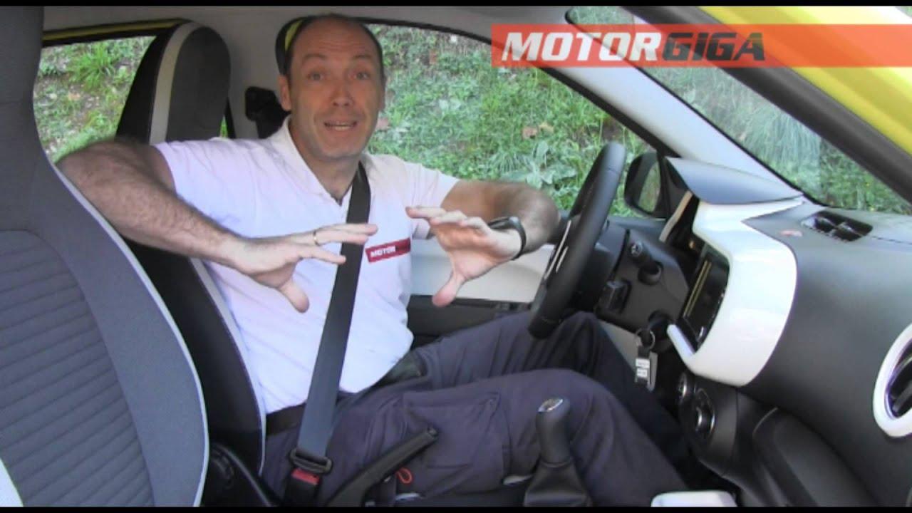Renault Twingo 2015 Plazas Delanteras  Youtube