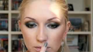 Вечерний Макияж Для Зеленых Глаз.(Привет девочки! в этом видео покажу вам очень красивый вечерний макияж. Этот клубный макияж я очень люблю!..., 2012-06-17T05:19:27.000Z)