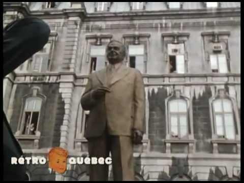 René Lévesque - Statue de Duplessis - 1977