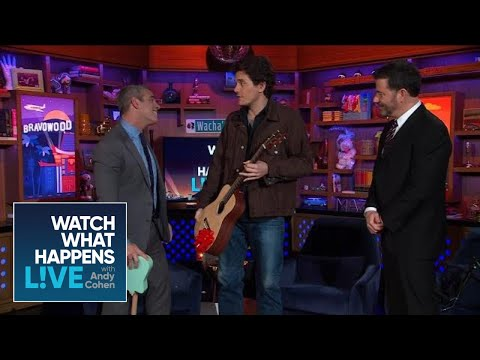 John Mayer Surprises Andy Cohen In The LA Clubhouse! | WWHL