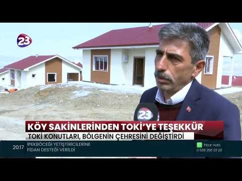KÖY SAKİNLERİNDEN TOKİ'YE