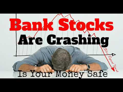 Economic Collapse News - Bank Stocks Are Crashing Entire Index Is Down Over 20%