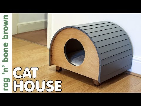 Making A Cat House / Pet Bed