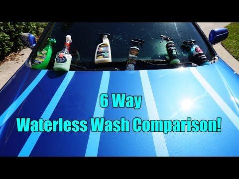 Waterless Wash Comparison! Meguiar's, Turtle Wax, Griot's Garage, Adam's.