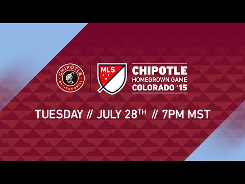 Chipotle MLS Homegrown Game   MLS All-Star 2015