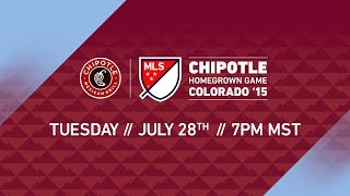 Chipotle MLS Homegrown Game | MLS All-Star 2015