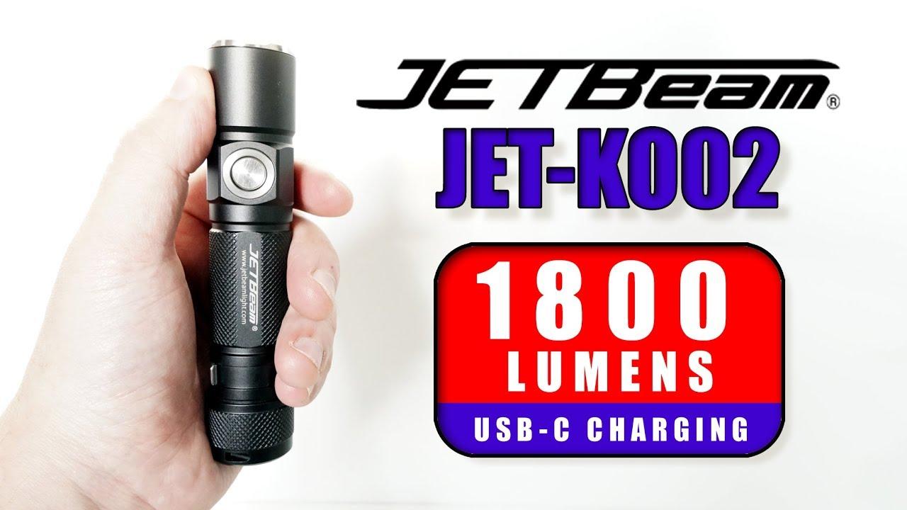4K Review] Jetbeam JET-KO02 - 1800 LUMENS edc