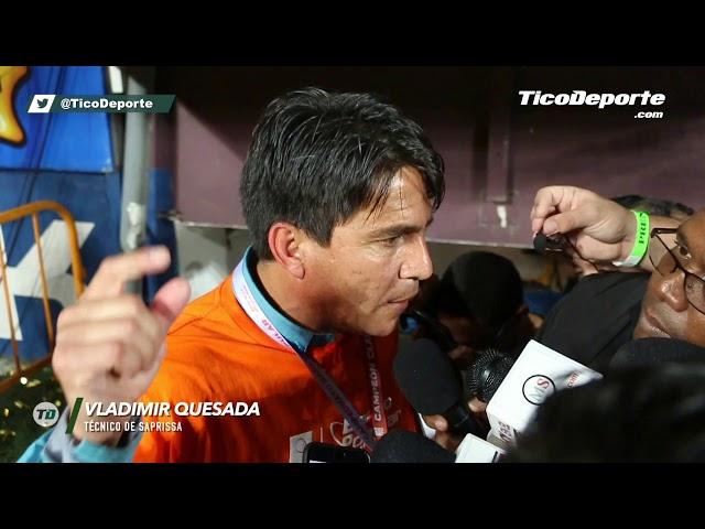 """Vladimir Quesada: """"Yo estoy feliz y tranquilo"""