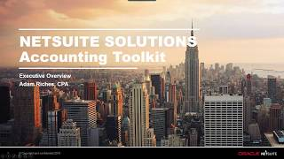 NetSuite Accounting Toolkit Overview