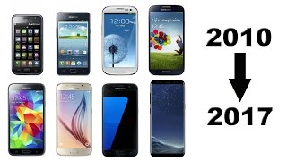 History of Samsung Galaxy S Phones 2010-2018