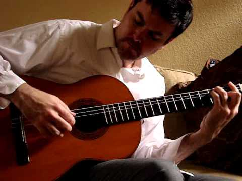 Original music from Jeffrey A Cole on antique Martel flamenco peghead guitar