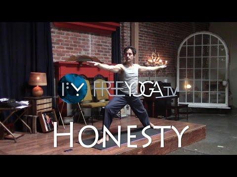 Honesty. Full Yoga Class.  Hatha. Intermediate
