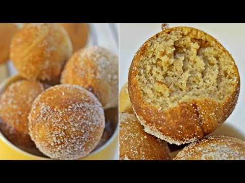 Quick Easy and Healthy Doughnuts in 15 Minutes || Drop Doughnuts Using Cake Pop Maker