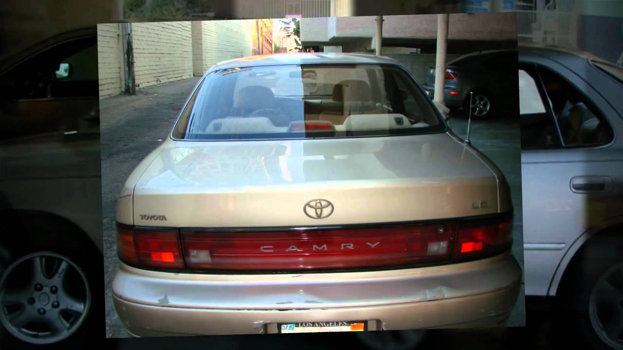 Used 1994 Toyota Camry Le For Sale In Los Angeles Ca Craigslist Youtube