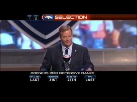 Denver Broncos 2011 NFL Draft Picks