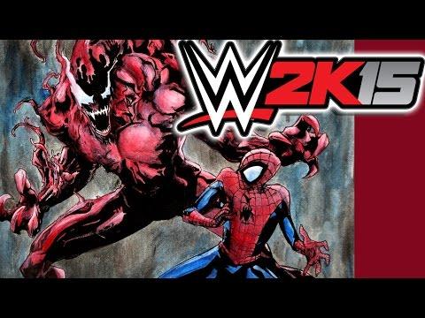 WWE 2K15 Next-Gen / Spider-man Vs Carnage (H2O Delirious Vs CaRtOoNz)