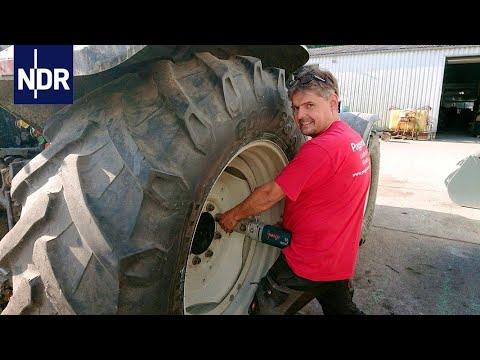 Landmaschinen: Pannenhilfe für Traktoren | die nordreportage | NDR Doku