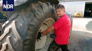 Landmaschinen: Pannenhilfe für Traktoren | die nordreportage | NDR Doku thumbnail