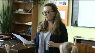 Галахова Мария Алексеевна - урок литературы в 5-ом классе