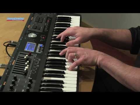 Roland VR-09 Sweetwater Exclusive Sound Library Demo by Daniel Fisher - Sweetwater Sound